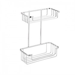 Croydex Two Tier Cosmetic Basket
