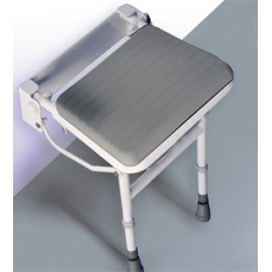 Easa Wall Mounted Shower Seat with Legs