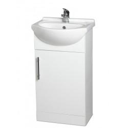 Davies 45cm White Vanity Unit Classic Basin