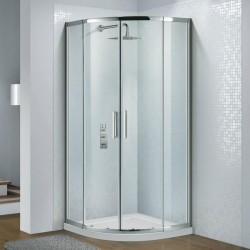 Flair Slimline Capella 900mm Quad Door