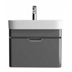 Sott Aqua Dark Grey 57cm Vanity Unit