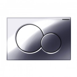 Geberit Sigma01 Dual Flush Plate Gloss Chrome - 115.770.21.5