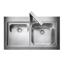 Mezzo Bowl & 1/2 Kitchen Sink