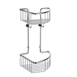 Sideline Corner Soap Basket Double