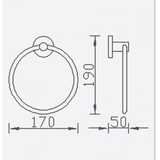 Luca Towel Ring