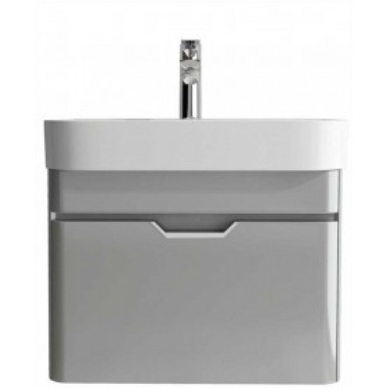 Sott Aqua Light Grey 57cm Vanity Unit
