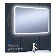 Linea Plus  Live 75 Mirror