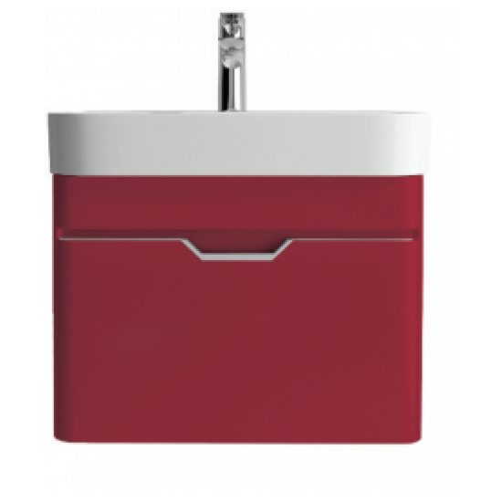Sott Aqua Red 48cm Vanity Unit