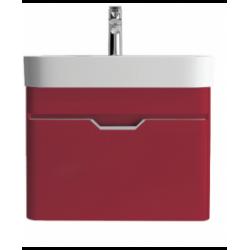 Sott Aqua Red 57cm Vanity Unit