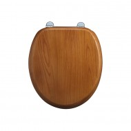 Burlington Oak Wooden Seat & Cover