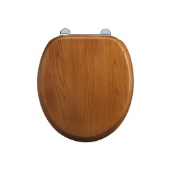 Burlington Oak Wooden Seat & Cover