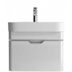Sott Aqua Gloss White 57cm Vanity Unit