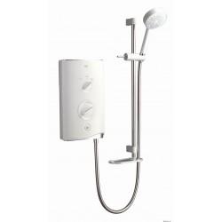 Mira Sport Thermostatic 9.8kw White
