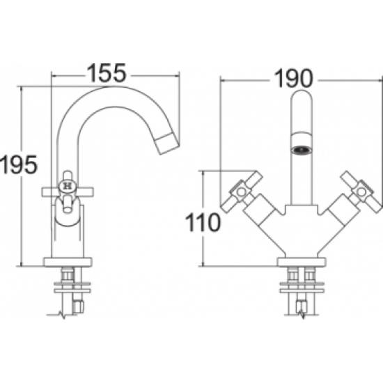 Motif Basin Mixer