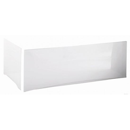 PVC Bath End Panel White