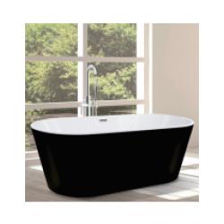 Signature Matt Black Freestanding Bath
