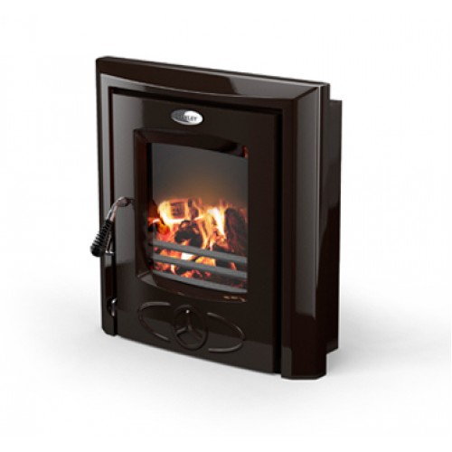 Cara Inset Majolica Brown NB Heating
