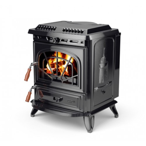 Erin Enamel Black HPB Heating