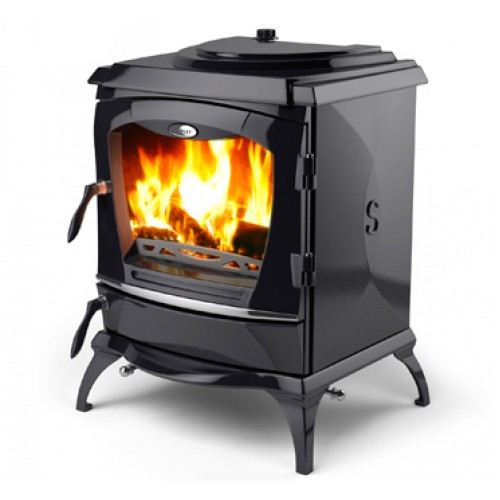 Reginald Enamel Black HPB Heating