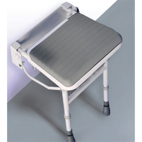 Easa Wall Mounted Shower Seat with Legs Accessories