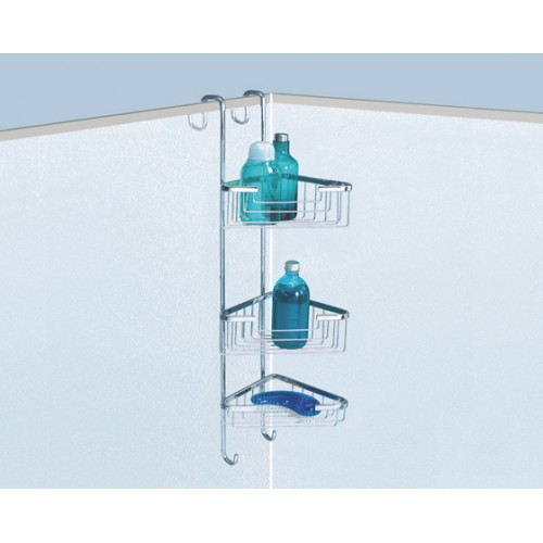 Complementi Three Tray Corner Shower Stack Accessories