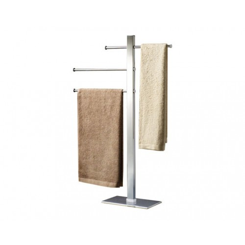 Bridge Towel Stand with Three Sliding Rails Accessories