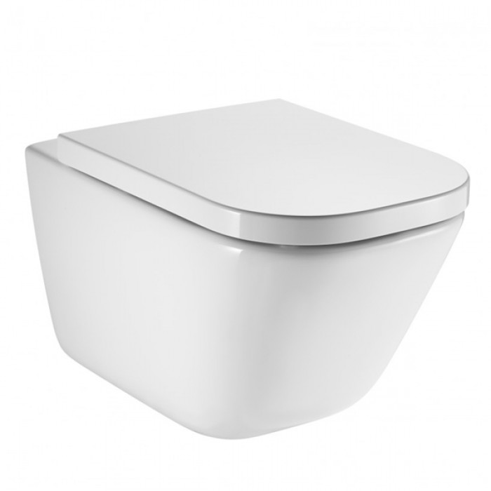 Roca Gap Rimless Wall Hung Toilet