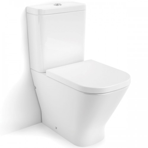 Roca Gap Rimless Toilet