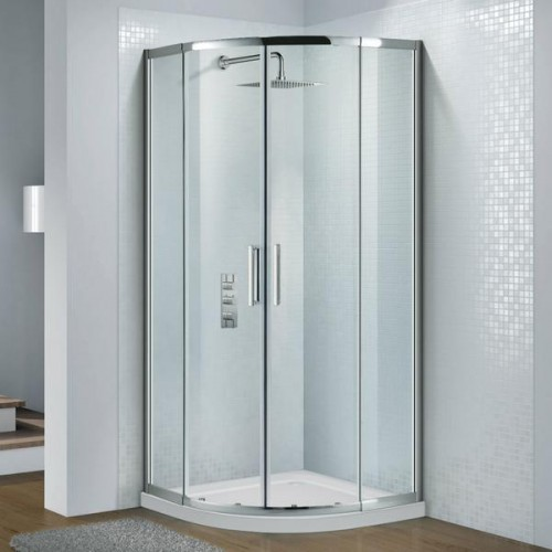 Flair Slimline Capella 900mm Quad Door