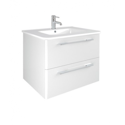 Mara White 80cm Vanity Unit 2 Drawer