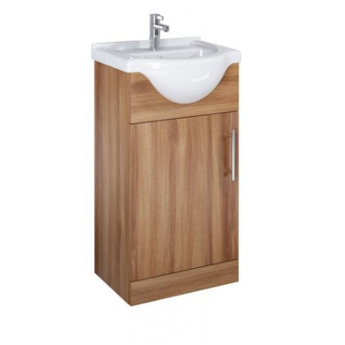 Belmont 45cm Walnut Vanity Unit