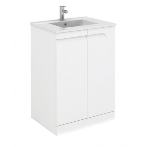 Brava 60cm Floor Standing Vanity Unit and Tap