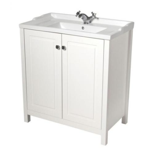 Kingston 80cm Chalk White Vanity UnitVanity Units. White Sink Vanity Unit. Home Design Ideas