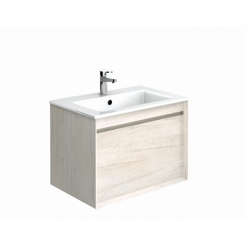 Bathroom Cabinets 55cm reflex light wood 55cm vanity unit - wall hung