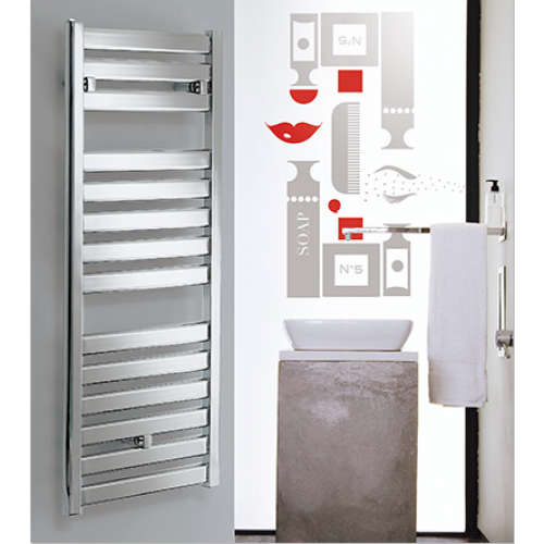 Capri Towel Rail CP 500mm x 1147mm