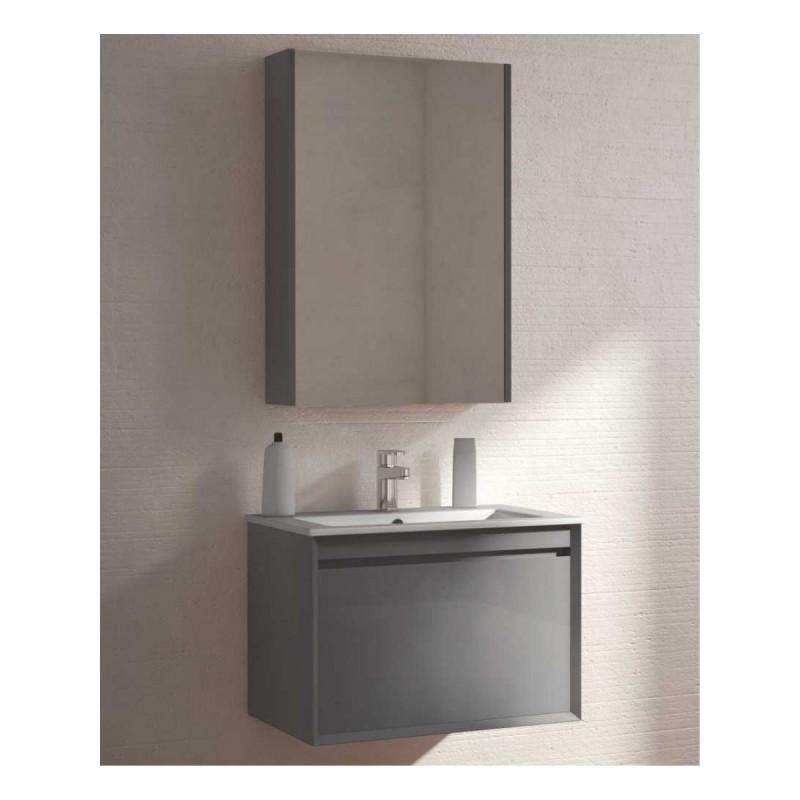 1040mm Basin And Toilet Vanity Unit Oak Combination Bathroom