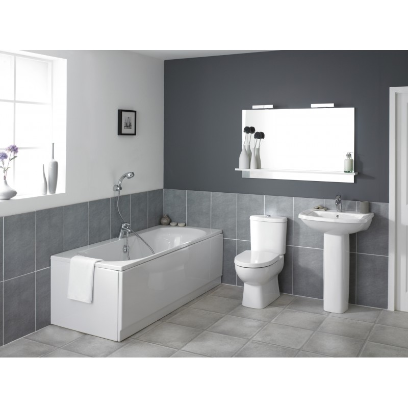 Kohler panache bathroom suite for Bathroom suites
