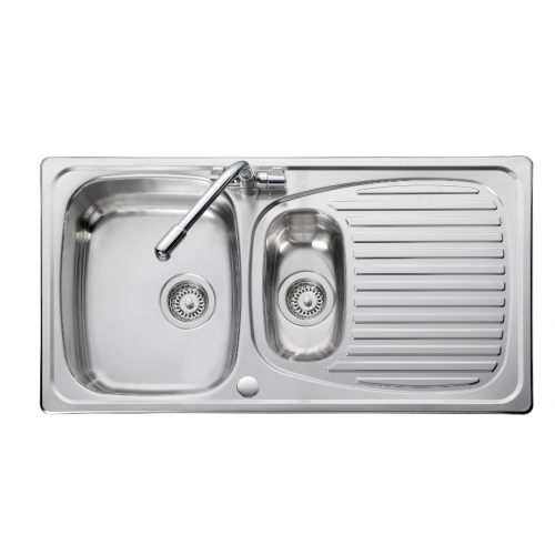 Euroline Bowl & 1/2 Kitchen Sink