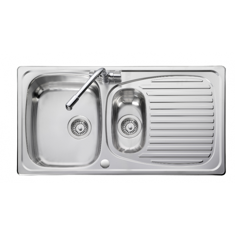Euroline Bowl Amp 1 2 Kitchen Sink