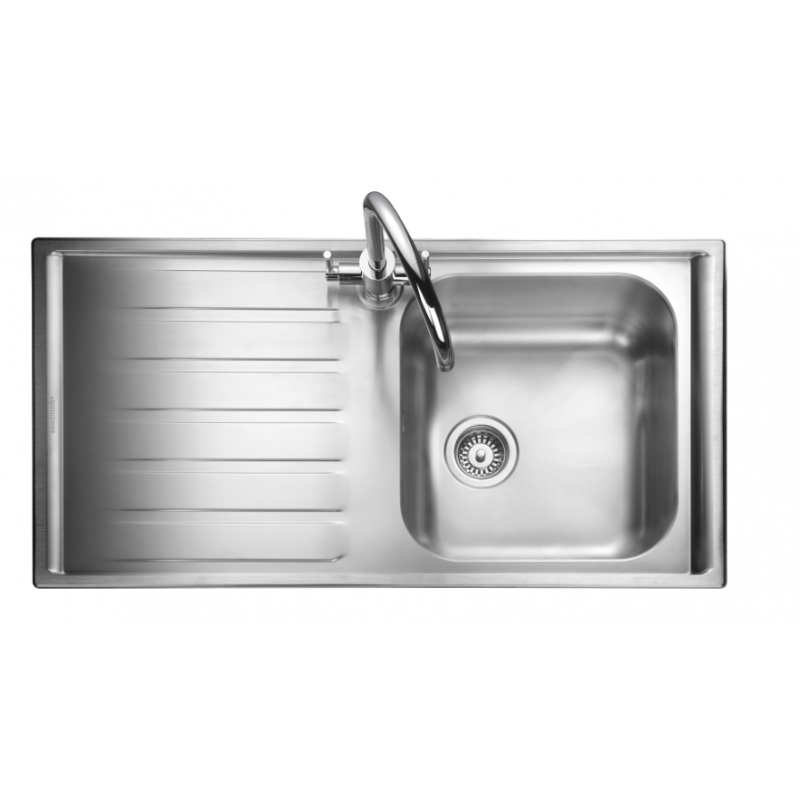 Home ? Kitchen ? kitchen sinks ? Manhattan Single Bowl Kitchen Sink ...