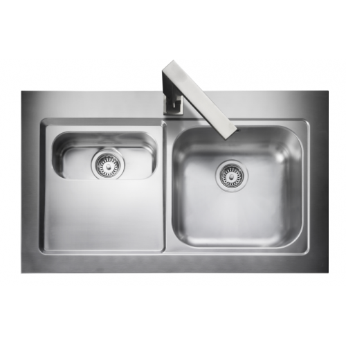 Mezzo Bowl & 1/2 Kitchen Sink