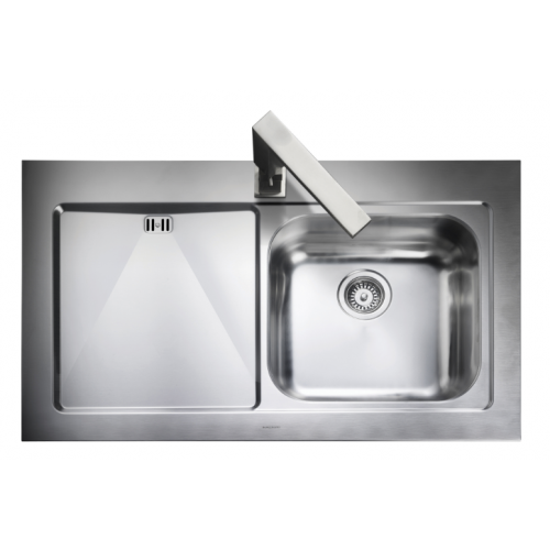 mezzo single bowl kitchen sink