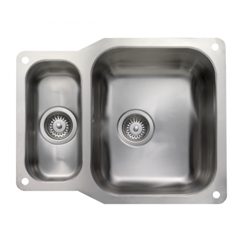 Atlantic Bowl & 1/2 Undermount Kitchen Sink