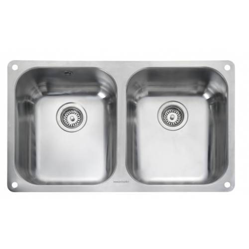 Atlantic Double Bowl Undermount Kitchen Sink