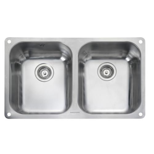 Atlantic Double Bowl Undermount Kitchen Sink