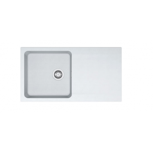 Orion - OID 611-94 Tectonite Polar White Kitchen Sink - Single Bowl