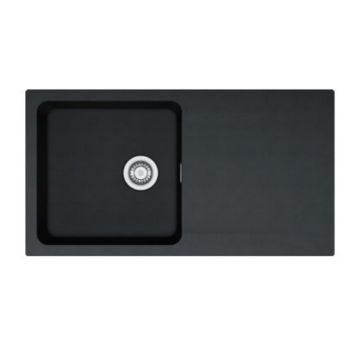 Orion Tectonite Carbon Black Kitchen Sink