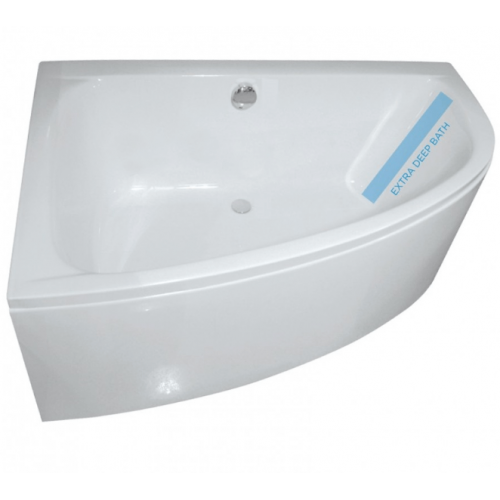 Maya 1500 x 1000mm Offset Corner Bath