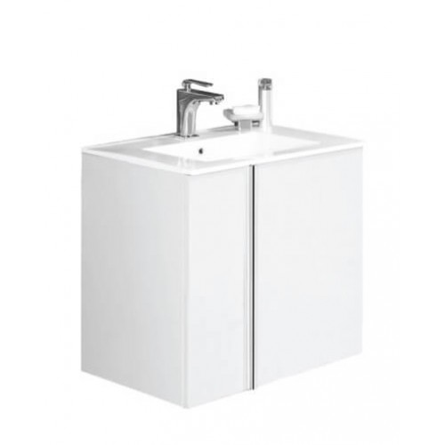 Avila White 60cm Wall Hung Vanity Unit