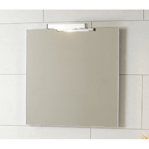 Aragon Small Mirror with Light Bathroom Furniture